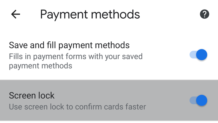Google Chrome is working on biometric authentication for payment autofill