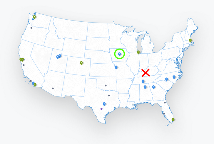 Google Fiber comes to a new city after long expansion hiatus