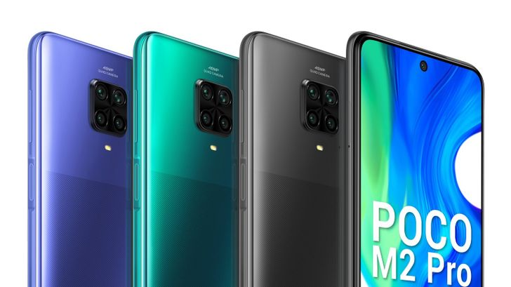 Poco unveils M2 Pro with Snapdragon 720G and hefty fast-charging battery for under $200