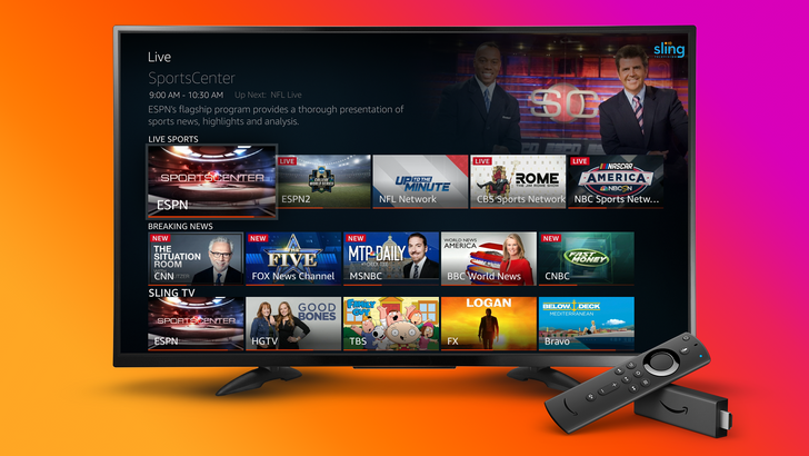 Amazon Fire TV Live now integrates YouTube TV and Sling TV, with Hulu coming soon
