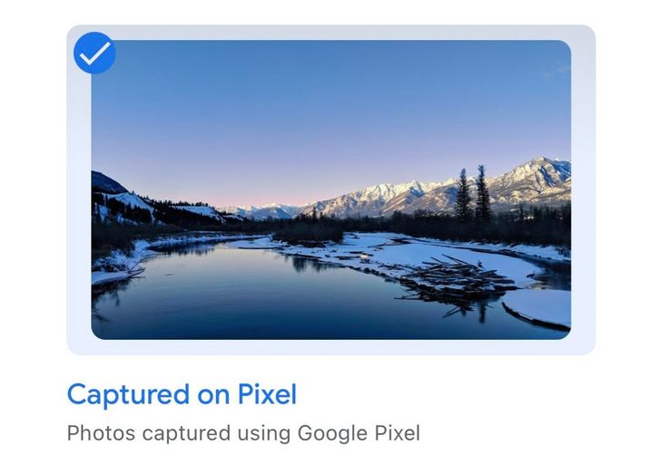 Google starts highlighting 'Captured on Pixel' photos across Ambient Mode screens