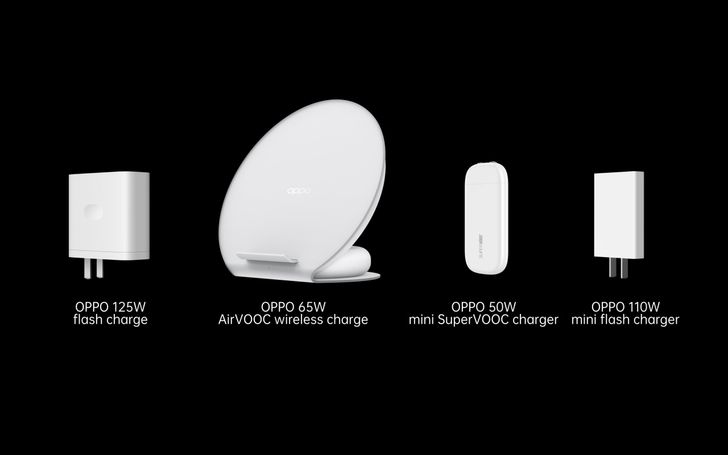 Oppo introduces a 125W charger that can top up your phone in 20 minutes