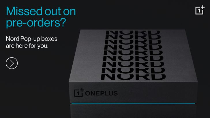 OnePlus Nord pre-orders have sold out but there's going to be an online pop-up