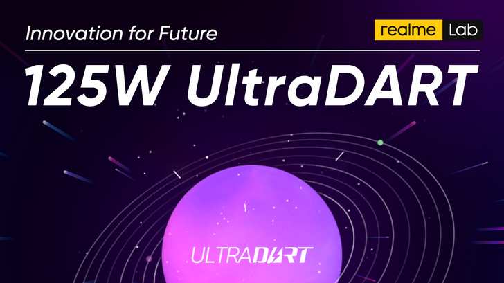 Realme announces 125W UltraDart charging tech, which sounds awfully familiar