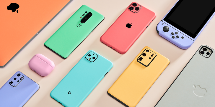 dbrand's new Pastel skins bring low-key shades to your low-key summer (Sponsored)
