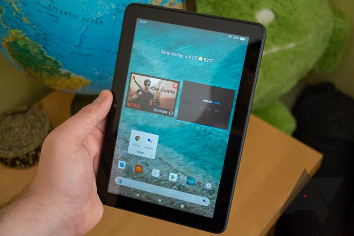How to make your Amazon Fire tablet feel more like stock Android