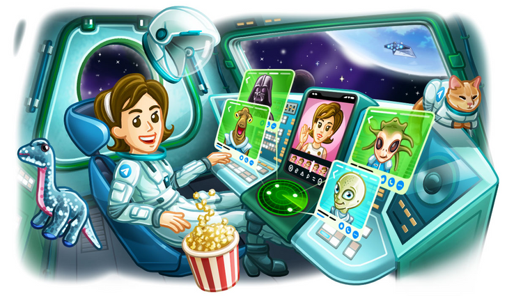 Telegram 6.3 allows users to send larger files, add profile videos, more (APK download)