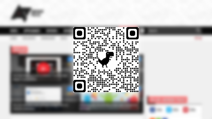 Chrome 84 brings new dino-themed QR codes to Android and desktops