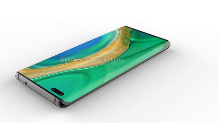 New Huawei Mate 40 Pro renders reveal more about the upcoming flagship line