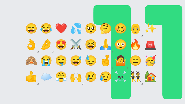 Google's updated emoji designs finally arrive in Android 11 Beta 3