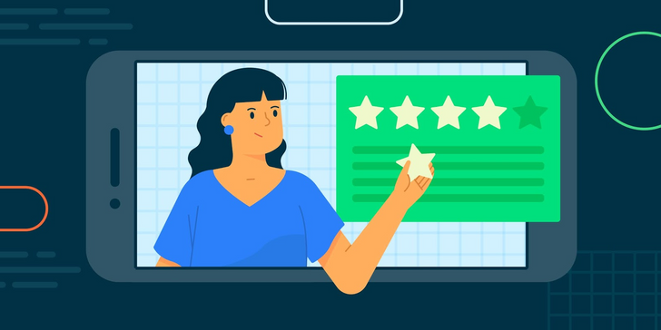 Google's new in-app reviews let you rate apps without switching to the Play Store