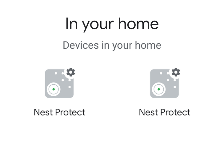 Nest Protect smoke alarms start showing up in Google Home app