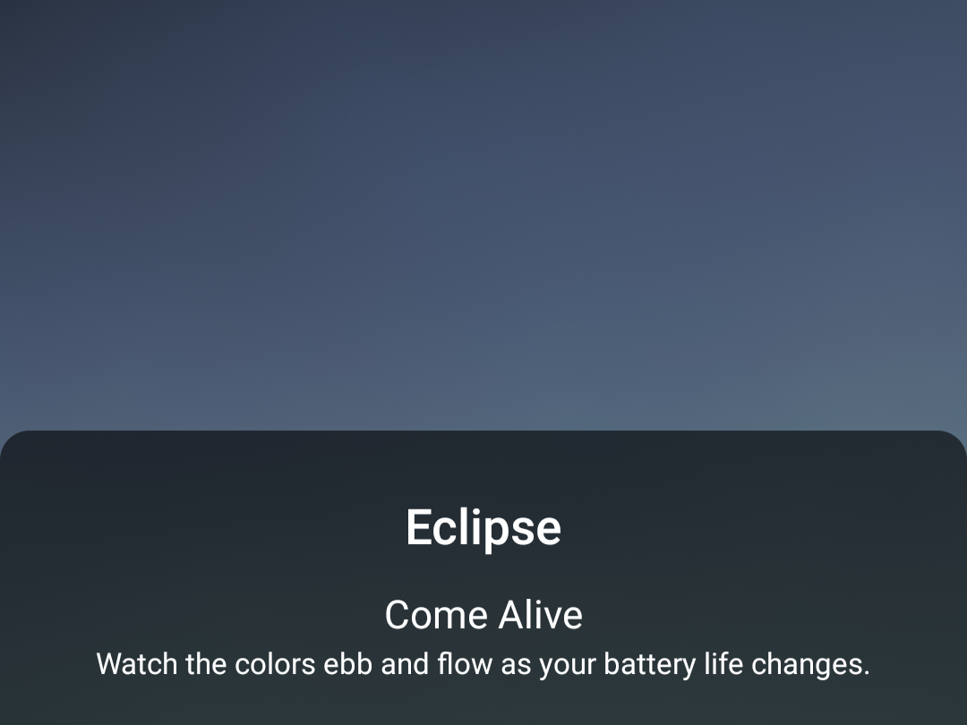 Here S How To Get The Pixel 4a S Eclipse Live Wallpaper On Any Phone