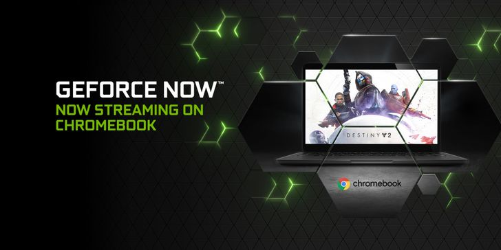 Nvidia GeForce Now beta launches on Chromebooks today