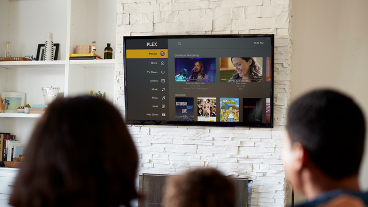 Plex 8.5 on Android TV lets you quickly sign in with Google