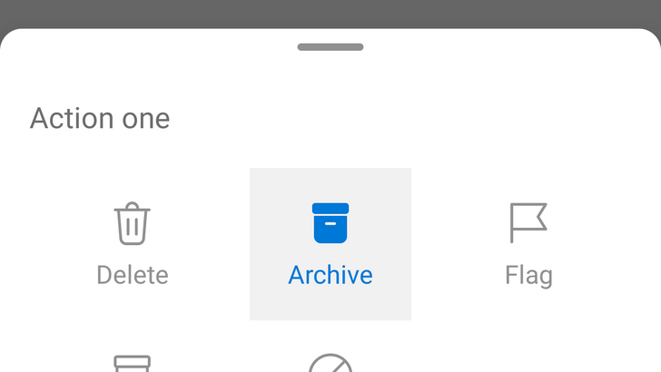 Microsoft Outlook adds option to customize buttons on notifications (APK Download)