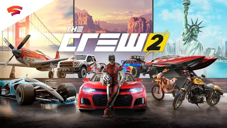 The Crew 2 will be free to play for Stadia Pro subscribers this weekend