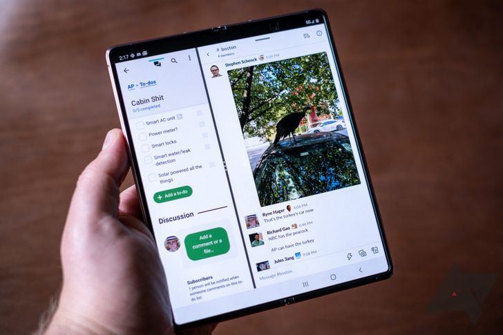 Samsung Galaxy Z Fold2 gets improved multitasking in One UI 3.1 update