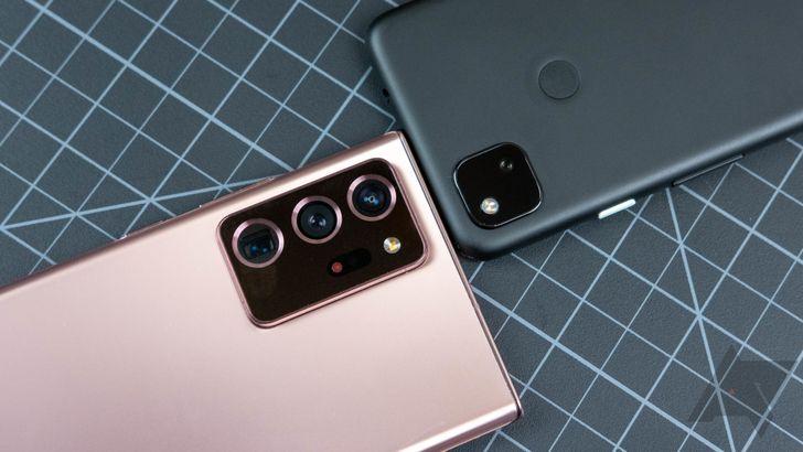 Camera shootout: Galaxy Note20 Ultra vs. Pixel 4a