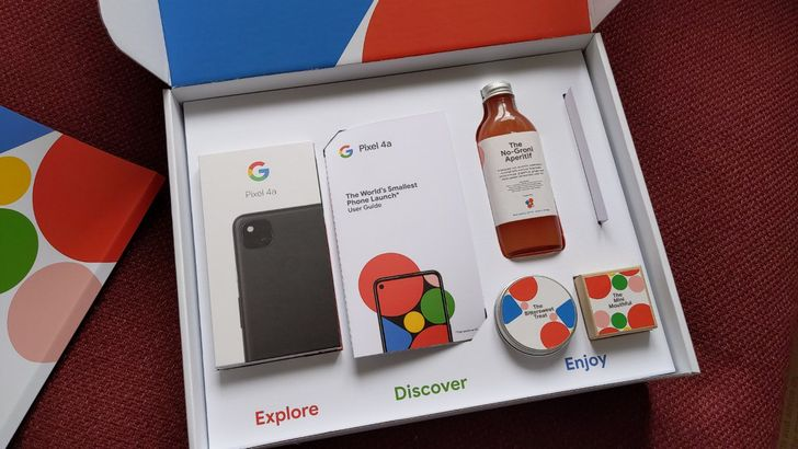 Google is giving out special Pixel 4a unboxing experiences to people in the UK