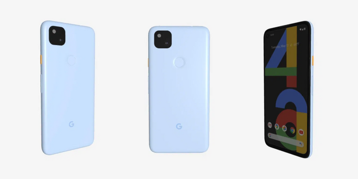 This is what the cancelled blue Pixel 4a would have looked like