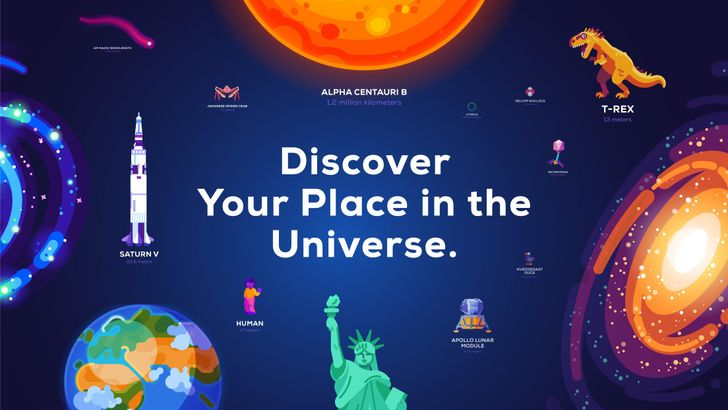 Kurzgesagt and Wait but Why collaborate on beautiful Universe in a Nutshell app