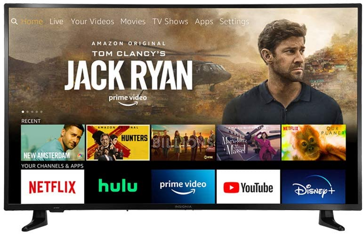 "Amazon discounts 50"" 4K Insignia Fire TV Edition to all-time low of $250 ($100 off)"