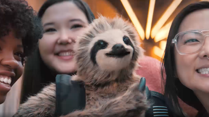 Google made a video starring a sloth to promote Project Jacquard's newest smart backpack