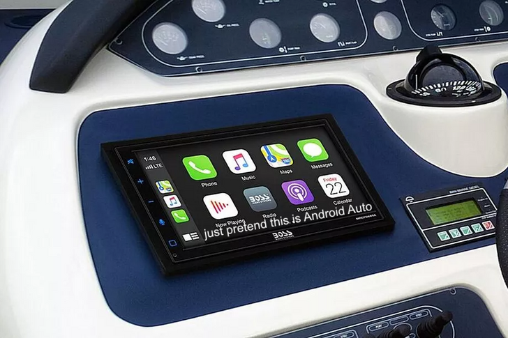 The first Android Auto head unit for boats is here, and it's only $290