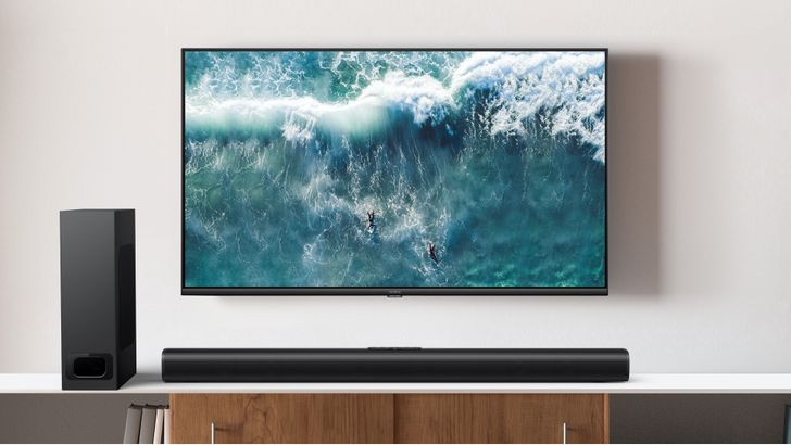 Realme unveils 4K Android TV with new SLED tech alongside 100W soundbar