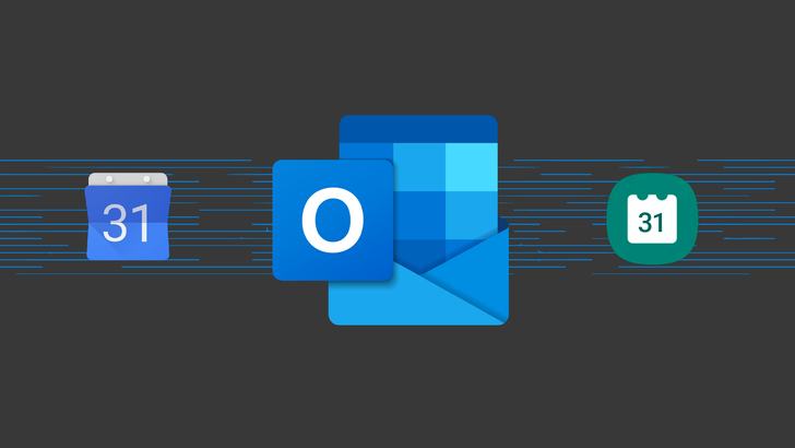 Outlook now supports syncing calendar events between Google and Samsung apps