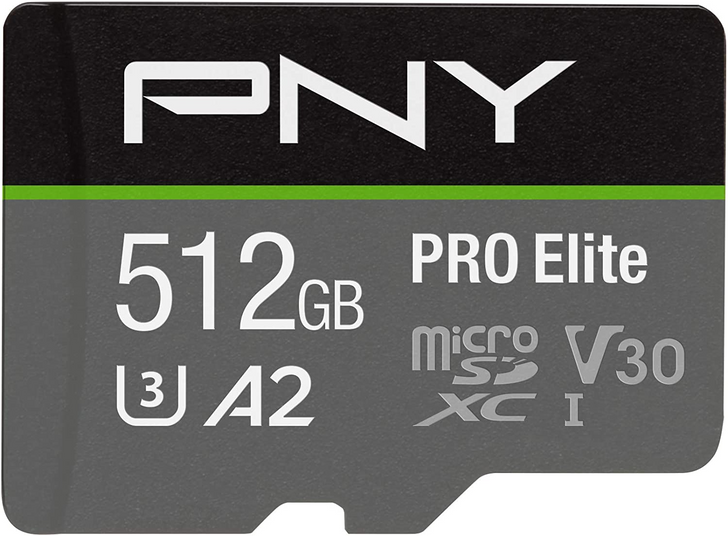 Prime members can get a 512GB PNY PRO Elite microSD card for just $70 ($30 off)