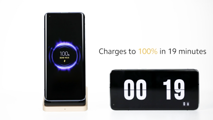 Xiaomi announces ridiculous 80W wireless charging technology