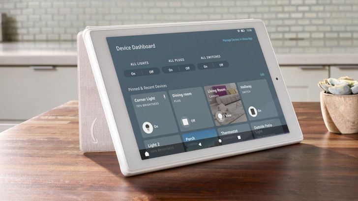 Amazon Fire tablets will soon have a dashboard for smart home devices