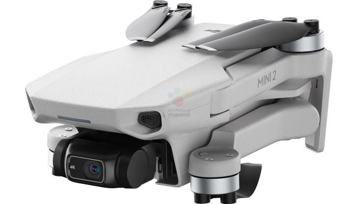 DJI's lightweight Mini 2 drone with 4K video tipped to land on November 4