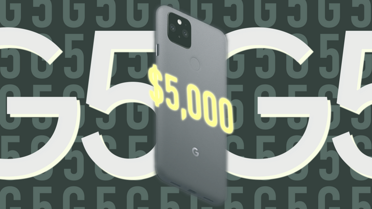 Google's handing out cash prizes in Pixel 5 $5G sweepstakes, no purchase necessary