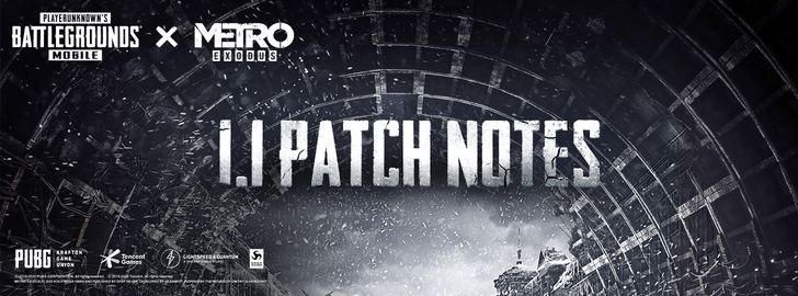 PUBG Mobile 1.1 update adds a Metro Exodus theme, two unique maps, new gear, plus more (APK Download)