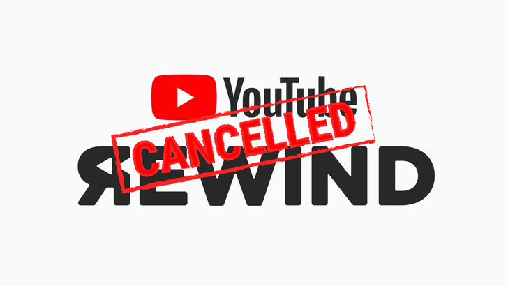 YouTube Rewind will not be happening this year