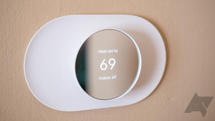 Google Home está implementando lentamente una mejor integración para termostatos Nest