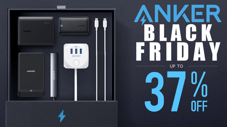 Get Anker batteries and charging accessories at up to 37% off for Black Friday