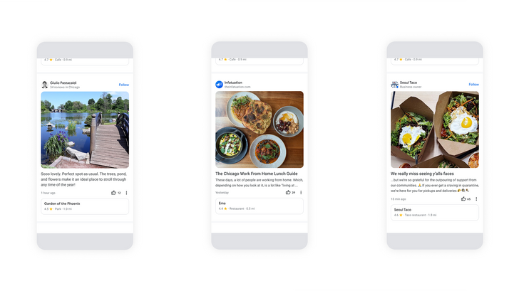 Google Maps highlights local changes and reviews with new community feed