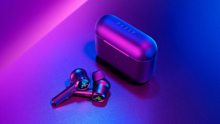Razer's new earbuds have active noise cancellation and low-latency Gaming Mode