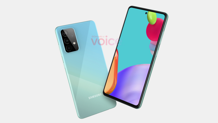 New renders give us our first look at the Galaxy A52 5G