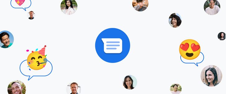 Google Messages gets iMessage-like reactions on the web too