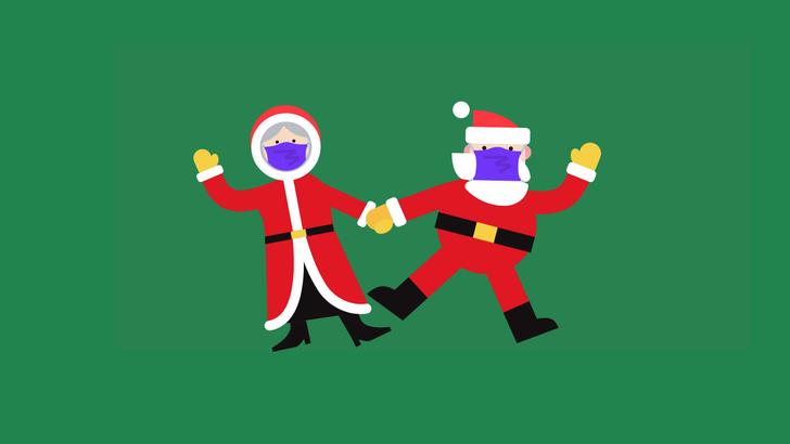 St. Nick masks up for Christmas in Google's 2020 Santa Tracker update