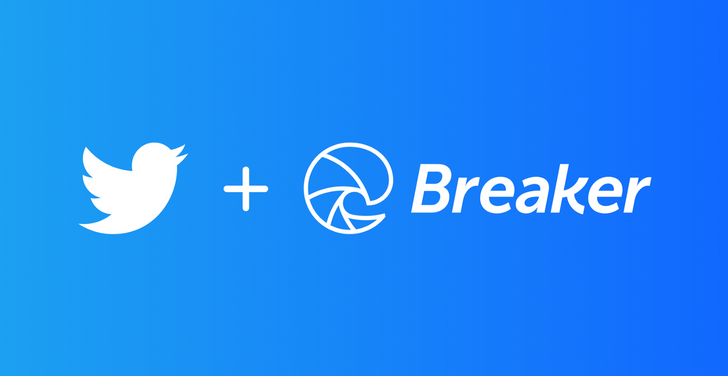 Twitter acquires podcast app Breaker to help build its audio chatrooms