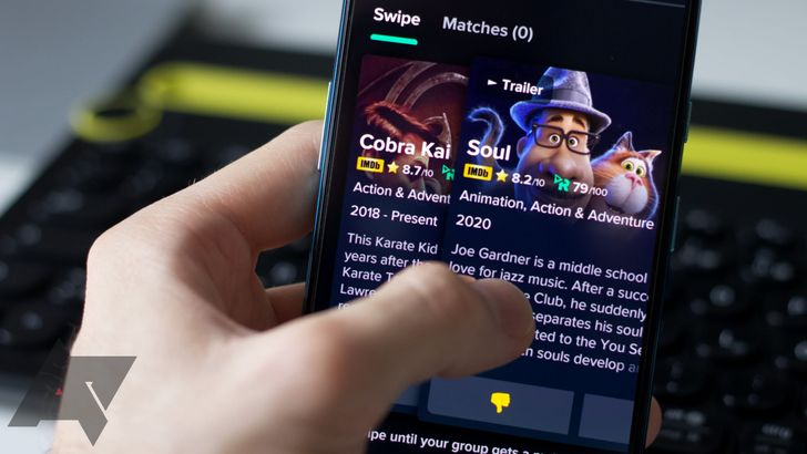 Swipe With Friends is like Tinder for finding movies and shows to watch