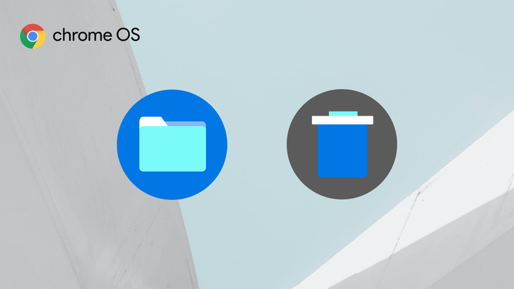 The Chrome OS file manager will soon get a trash can