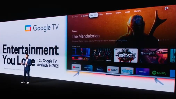 TCL plans on putting out a Google TV this year