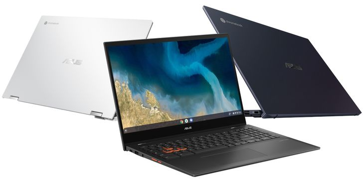 Asus reveals three new Chromebooks, including one for gamers